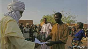 Niger esclave affranchi