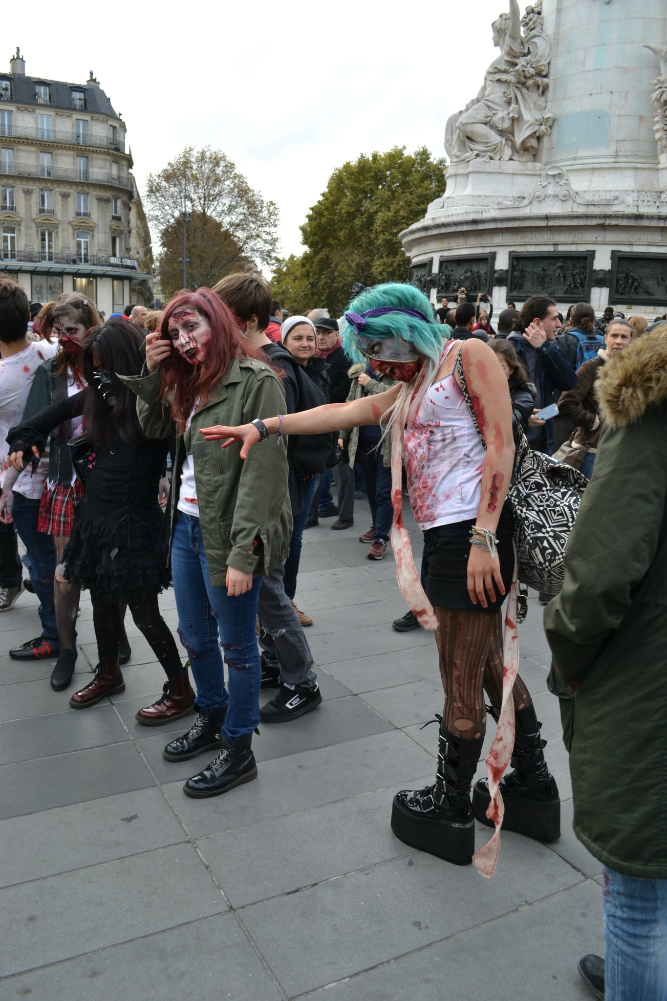 Zombie Walk Paris 2014 by Nico (16)