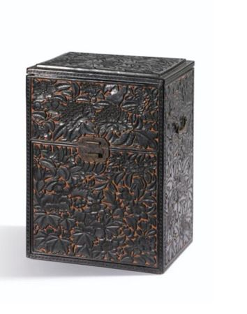 A_CARVED_BLACK_AND_CINNABAR_LACQUER_STATIONARY_BOX