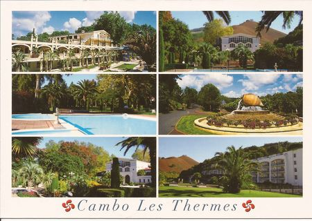 cambo les thermes