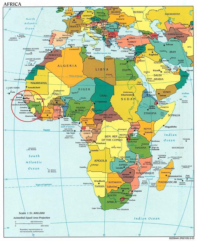 Carte-Sénégal