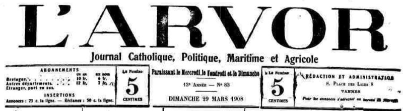 Presse L'arvor 1908_1