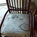 Changement de look pour mes chaises