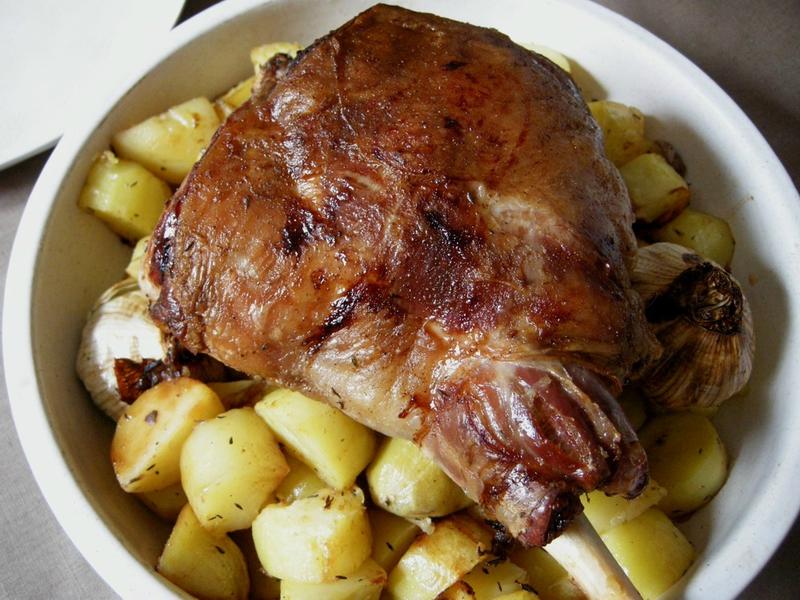 Gigot d 39 agneau au four livres et autres merveilles - Cuisiner epaule d agneau ...
