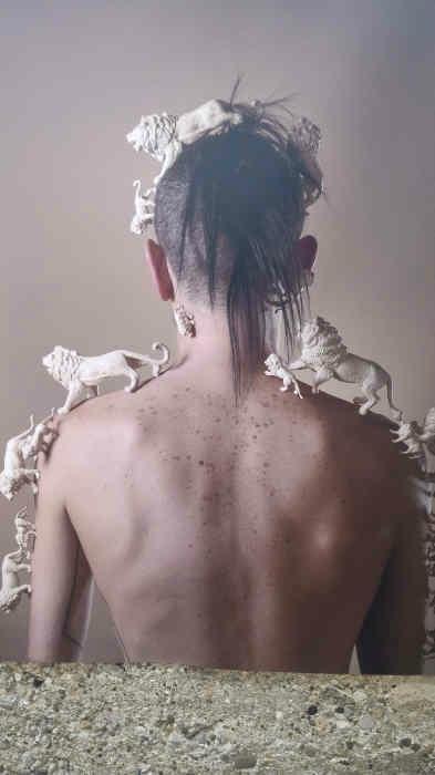 Transhumance série de Sabine Serrad