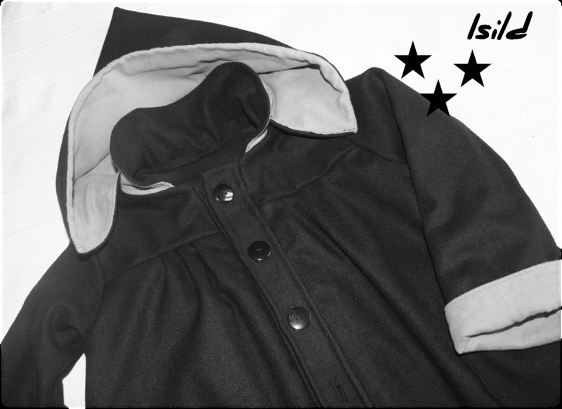 Manteau Isild à capuche #1