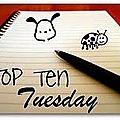 Top ten tuesday 4