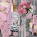 montage étole rose