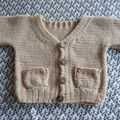 gilet tricot nature d erika knight