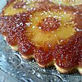 Gâteau renversé ananas-coco