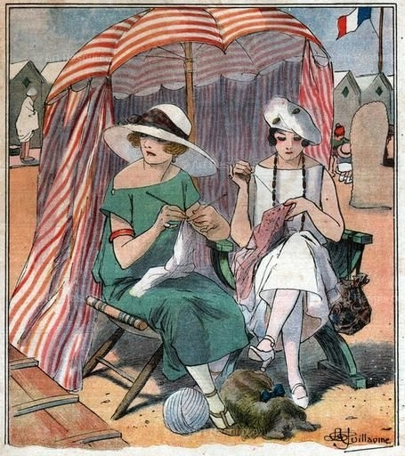 Guillaume, Albert-tricoteuses