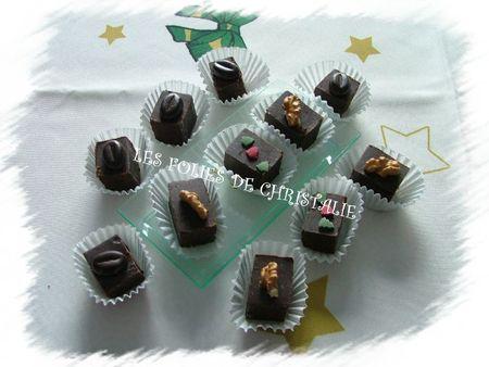 Cubes chocolat marrons 11