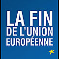 la fin de l union europeenne