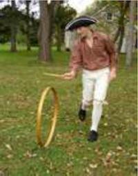 Hoop-Rolling