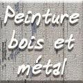 Peinture bois et métal
