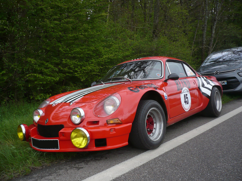 ALPINE RENAULT A110 Berlinette Hohwarth (1)