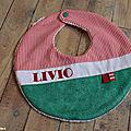 Bavoir Livio
