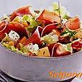 Pak choï grille au râpes de jambon et gingembre/ sesame .
