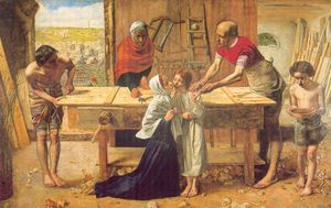 Millais, Le Christ dans la maison de ses parents