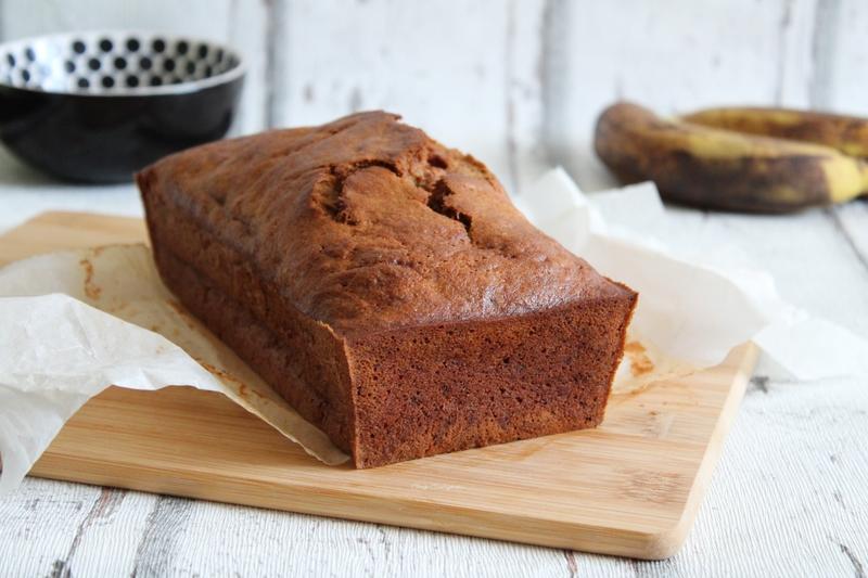 italian breckfast banana bread chez Cathytutu cake à la banane4
