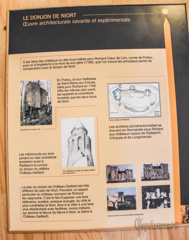 le donjon de Niort Oeuvre architecturale savante et expérimentale Plantagenêt