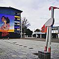Bayonne, festival Street art Point de vue 2018, Place du Polo Beyris, par Remy Uno, insta (64)