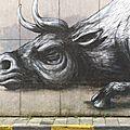 Murs peints à gent (gand)