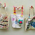 Cadeau fête des mères #1: diy tote bag