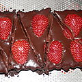 Tarte chocolat/oreo & fraises
