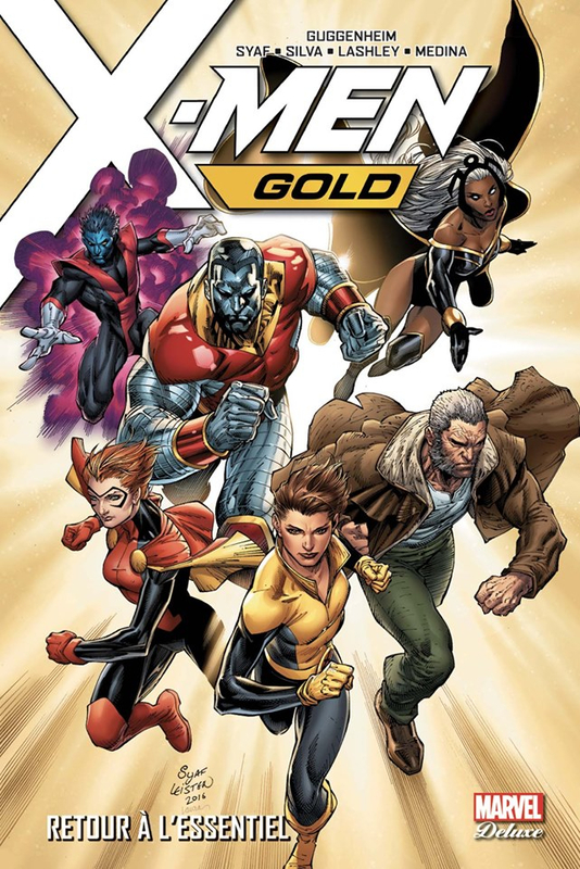 marvel deluxe x-men gold 01 retour à l'essentiel