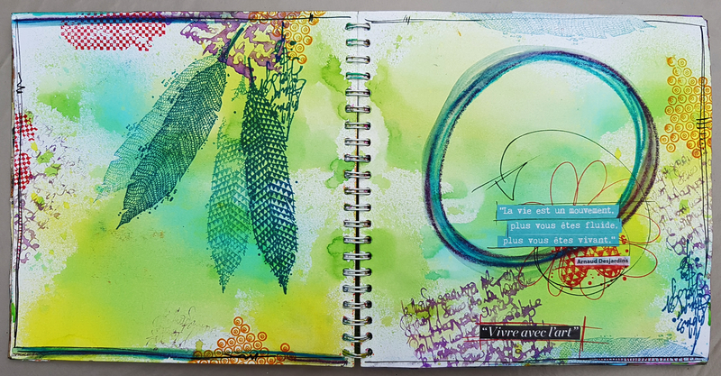 Azoline 2017-9 Art journal 8