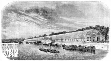 Exposition universelle 1855 Galerie des machines