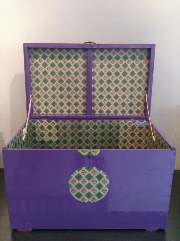 malle violette