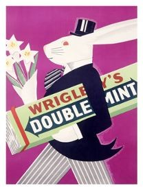 0000_5213_4_Wrigleys_Chewing_Gum_Rabbit_Poster_Affiches