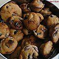 Muffins cerises et chocolat blanc