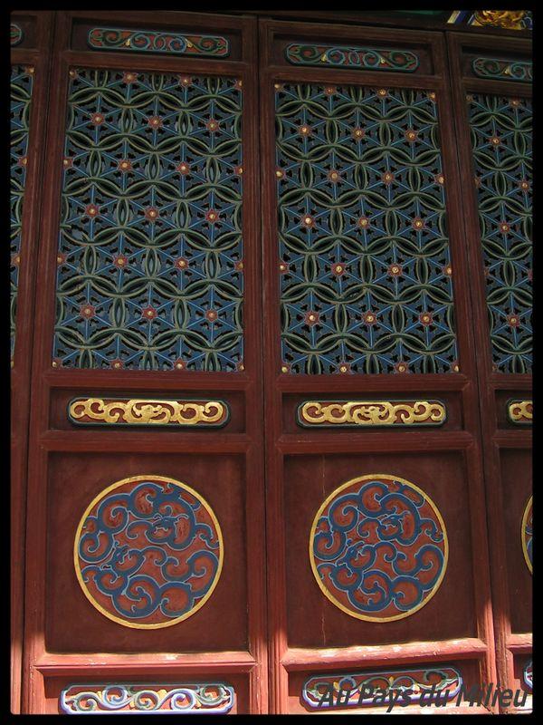 Ile dePutuo Shan détails décorations