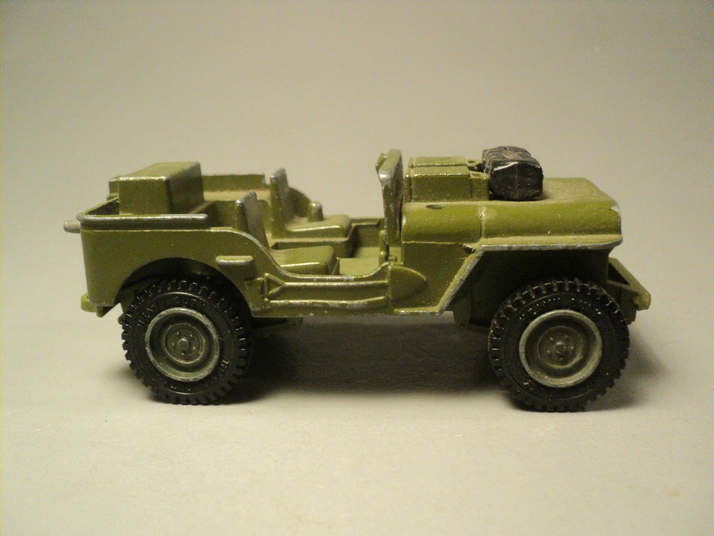 Voiture Miniature Métal Jeep Willys US Dinky Toys