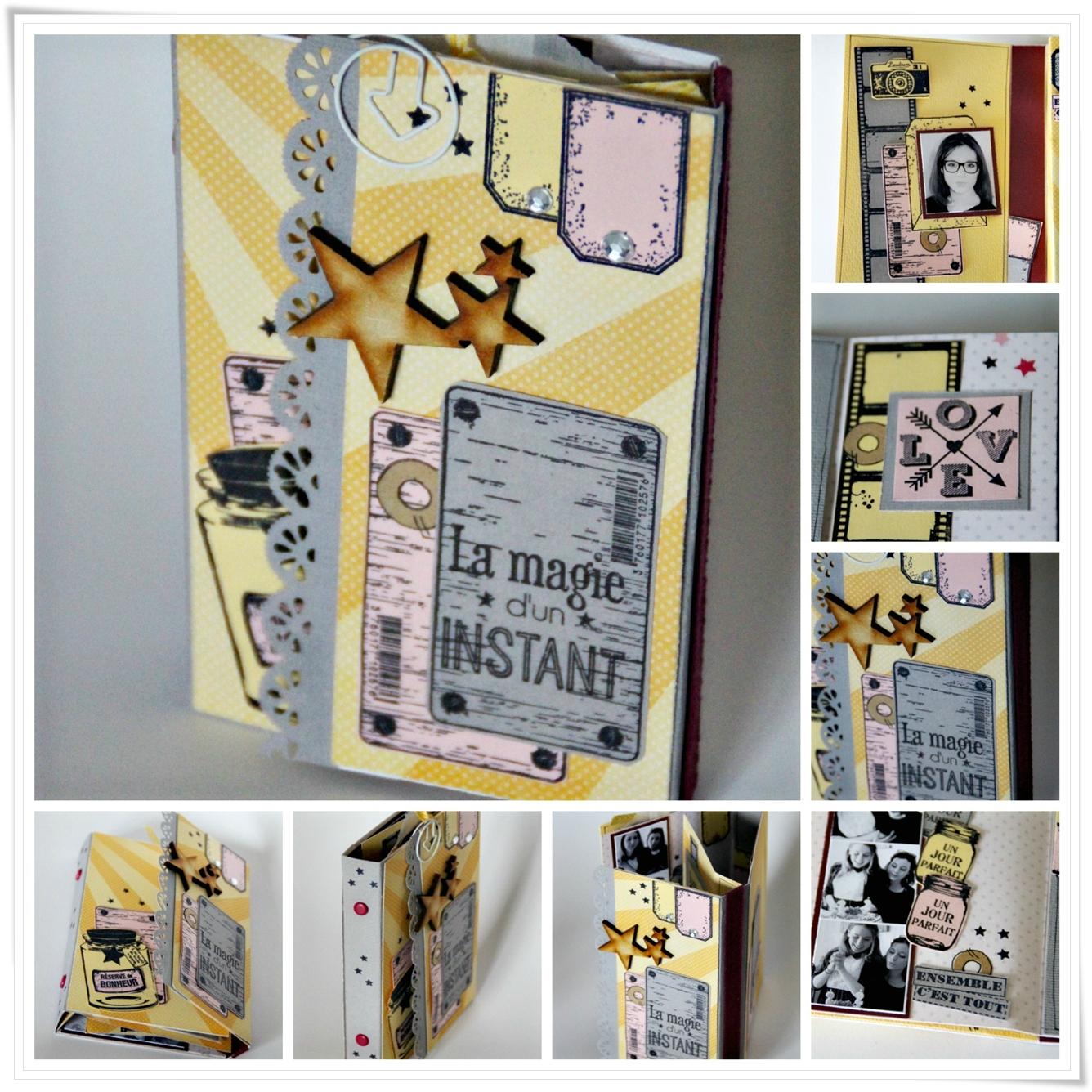 Collage mini kit decembre Vavie