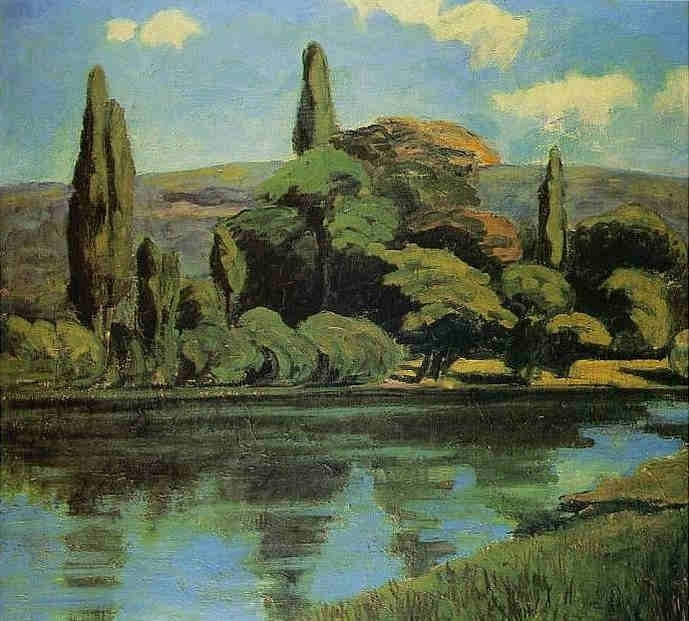 Derain 1899 Bords de Seine à Chatou