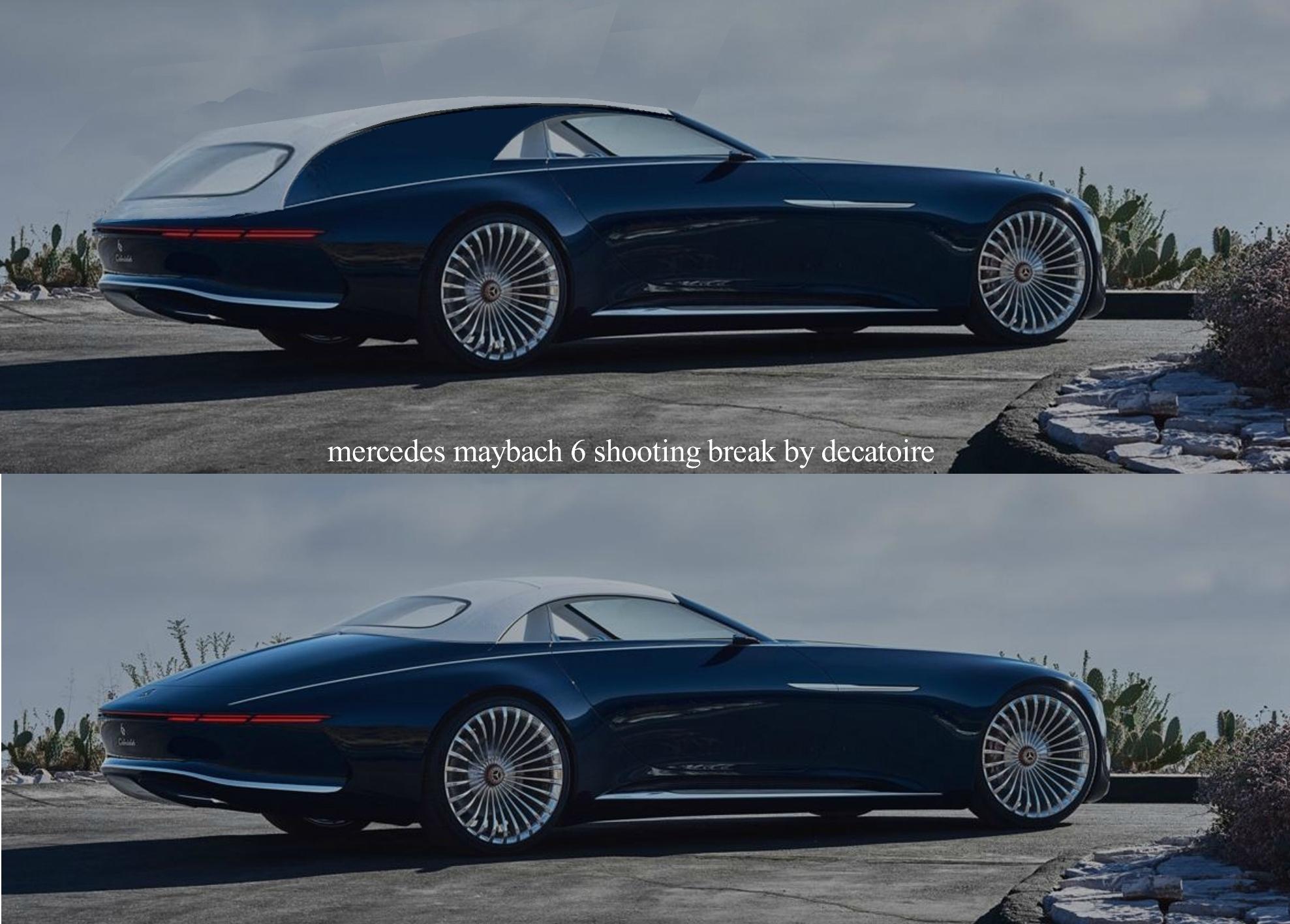 Mercedes-Maybach 6 shooting break
