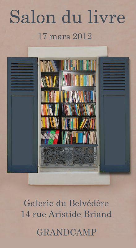 affiche salon du livre blog