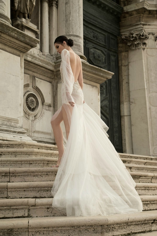 Inbal Dror robe demariage