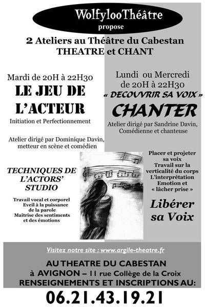 Affiche ateliers 2013