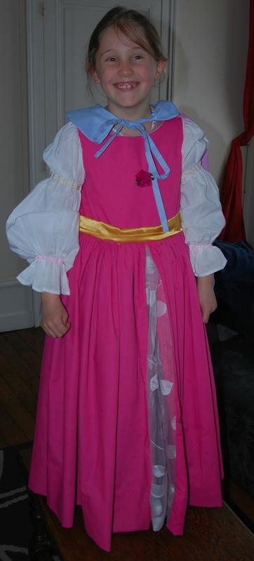 robe princesse constance devant