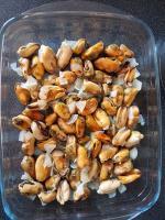 chez cathytutu tous en cuisine cyril lignac moules gratinees persillade trop bon (4)