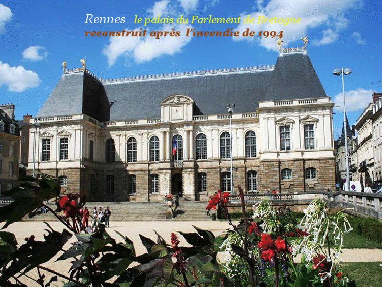 Le Parlement Rennes