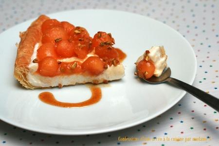 Tarte melon-muscat 9