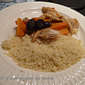 Sauté de dinde aux carottes et pruneaux au cookeo