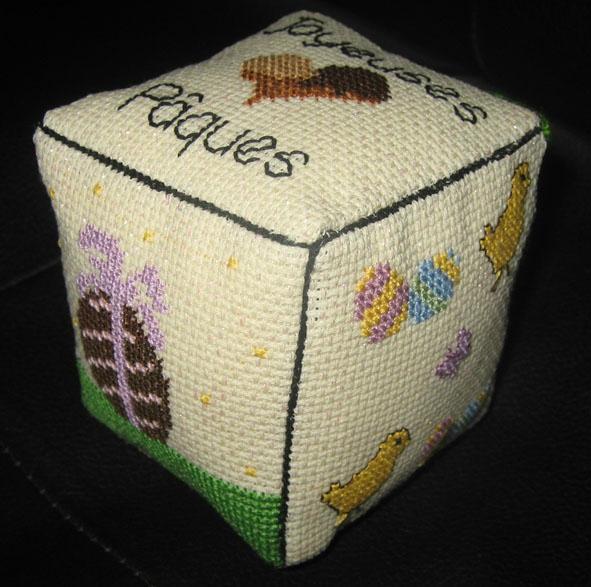 Cube de Paques de chez Ange