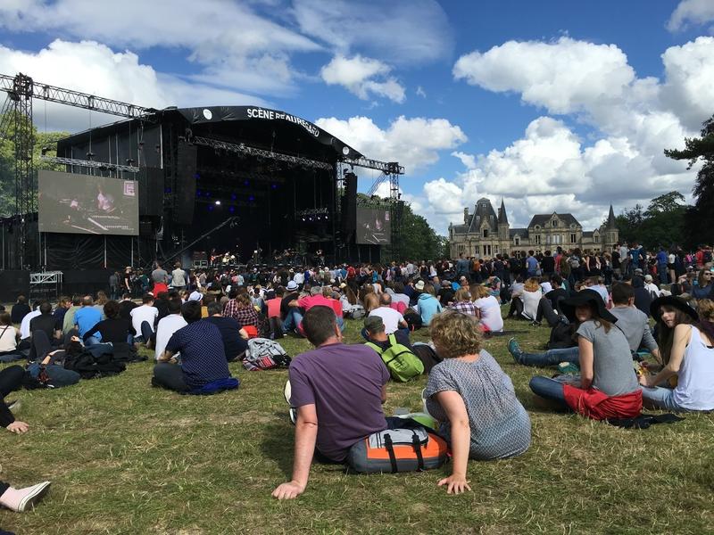 festival Beauregard 2016 chateau scène